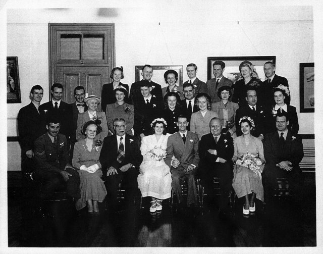 stewart wedding 29 aug 1949