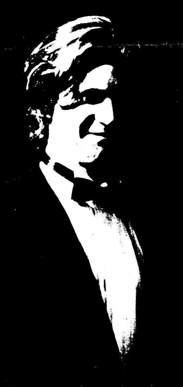 Derek in silhouette