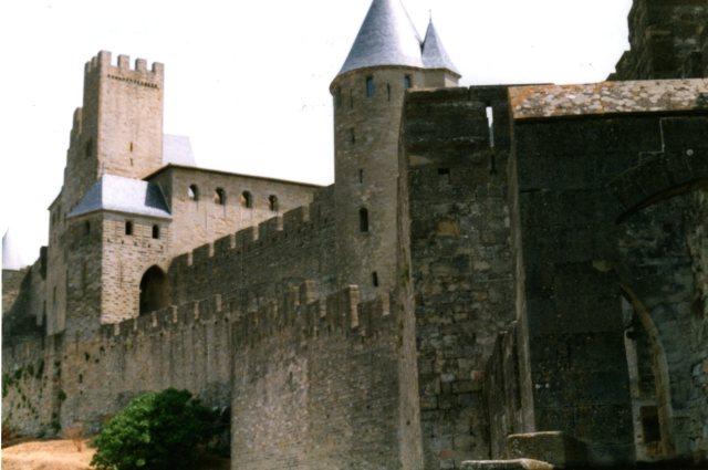 La Cité, Carcassonne, France June 1995