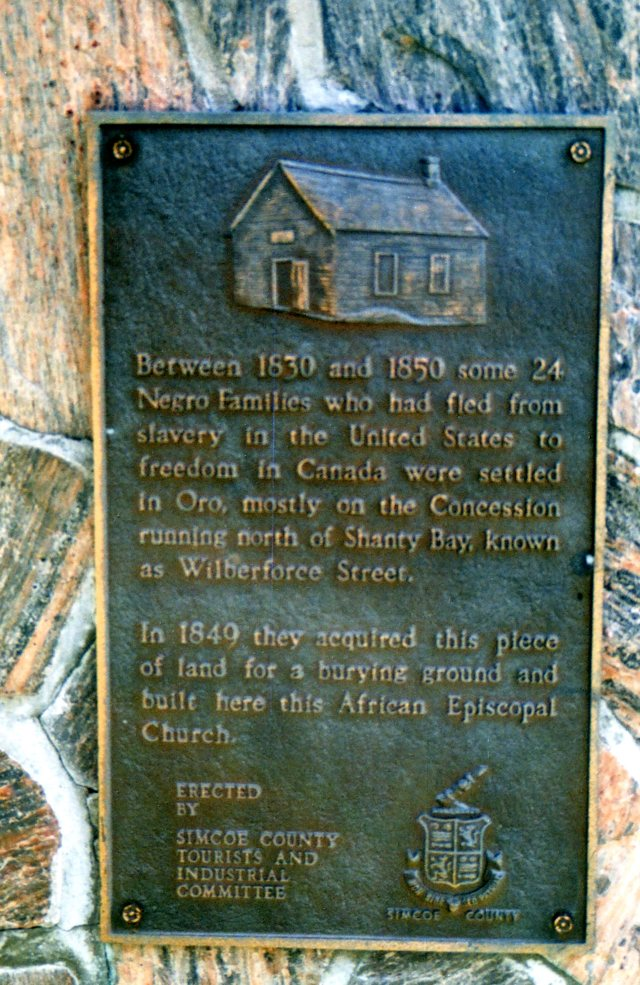 Simcoe County Plaque