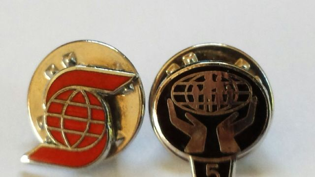 Work Lapel Pins