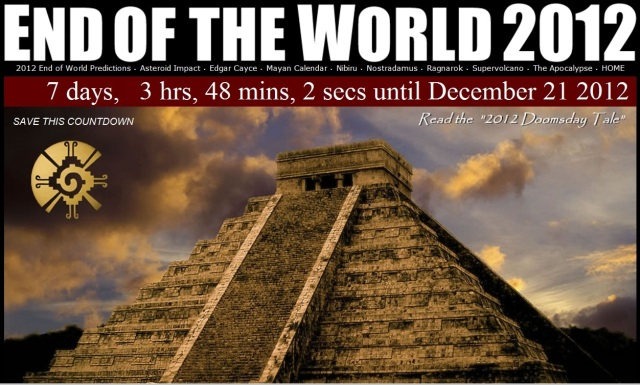 Mayan Calendar End Of The World 2012 - 21.12.12