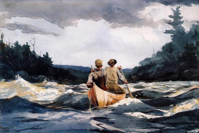 canoe-rapids