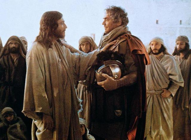 Centurion's servant healed