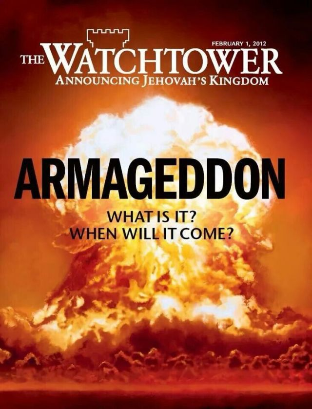 Armageddon cover