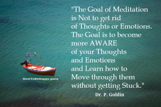 Goal of meditation
