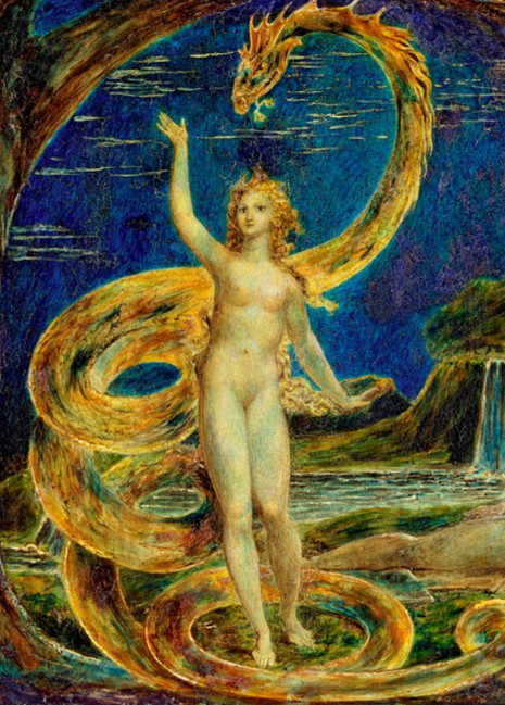 William_Blake_Eve_Tempted_by_the_Serpent_detail