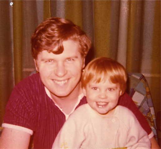 Chris and Derek 25 Dec 1973