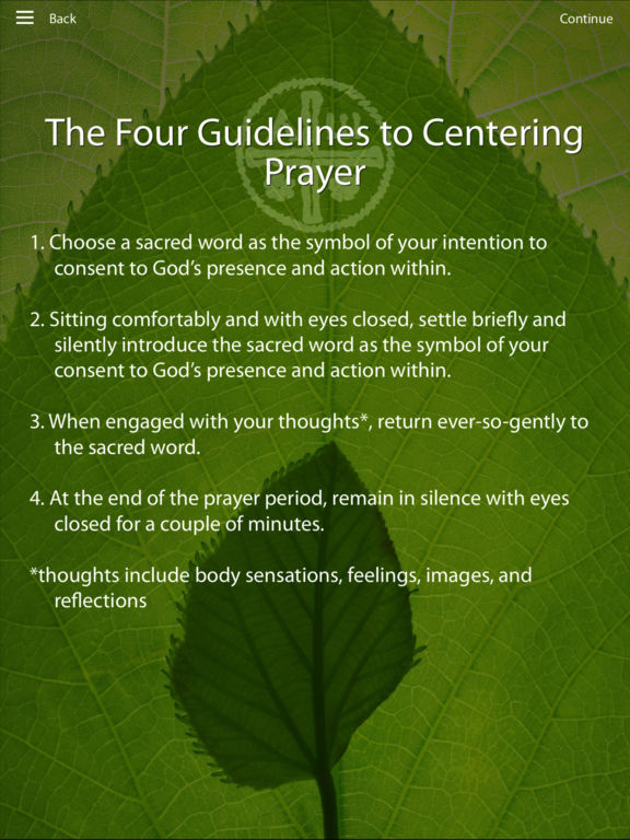 Four Guidelines