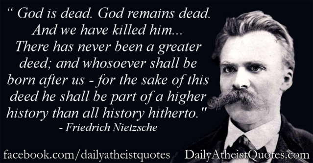 Friedrich-Nietzsche-God-is-dead