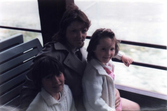 Mummy, Amy and Rosanna 1984