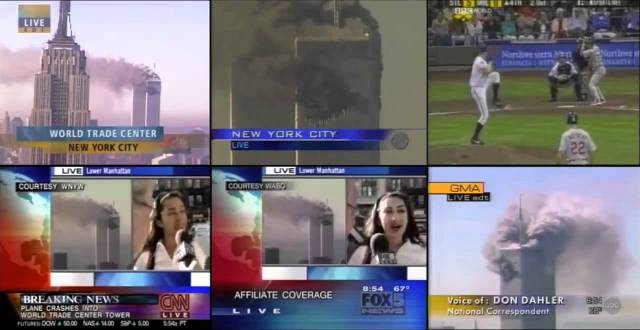 9-11 newscasts