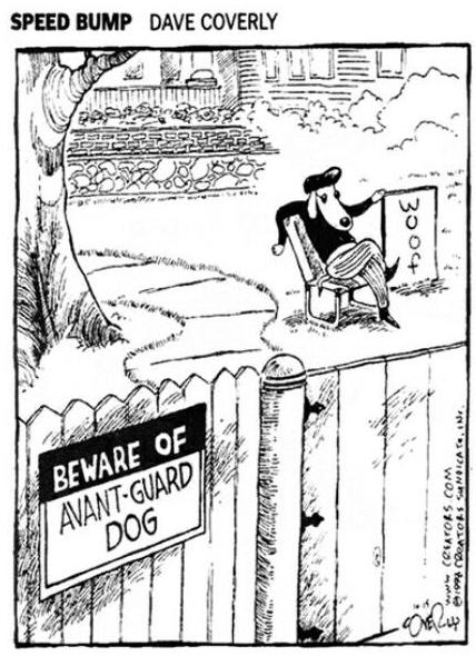 Avant-Guard-Dog