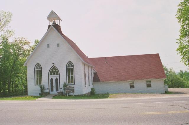 Hillside United Church now
