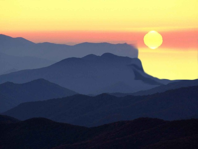 Mountain Sunrise Wallpapers 2
