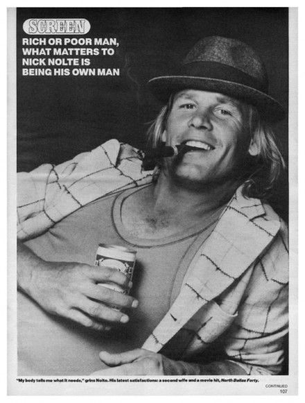 Nick Nolte young model