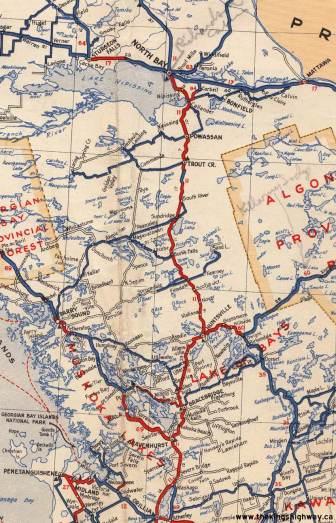 Hwy 11 North - 1938