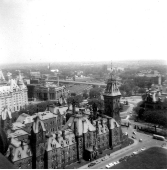 Peace Tower view May 64