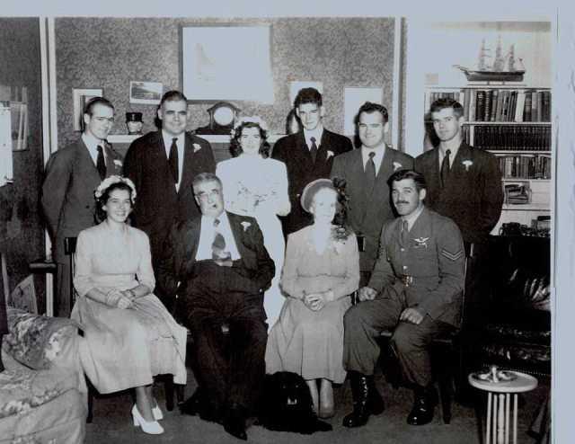 The Stewarts in 1949