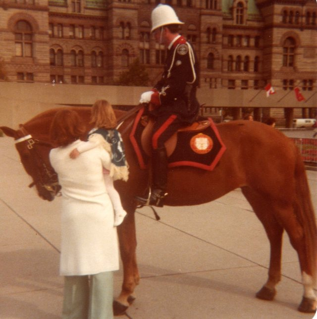 Toronto Mounted Police 1978