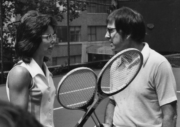 BILLIE JEAN KING, BOBBY RIGGS