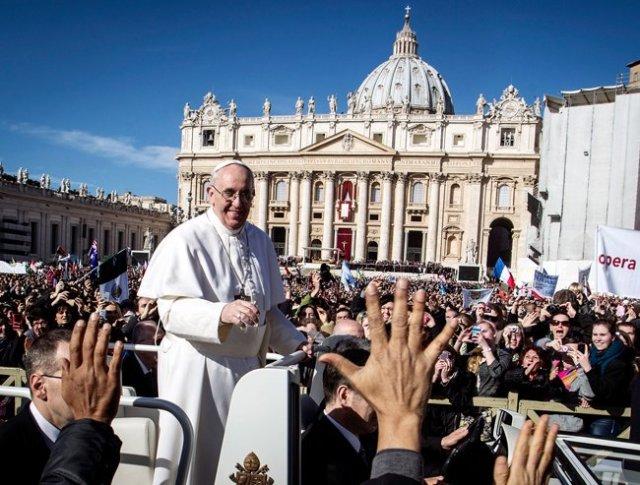 Italy Vatican Pope~s _admi