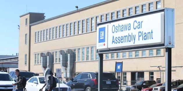 General Motors Plant in Oshawa