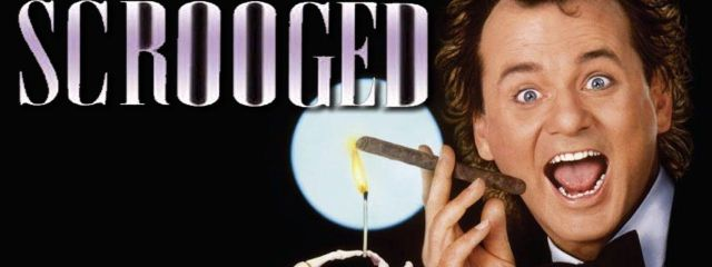 Scrooged banner