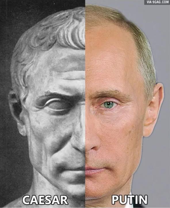 Ceasar-Putin