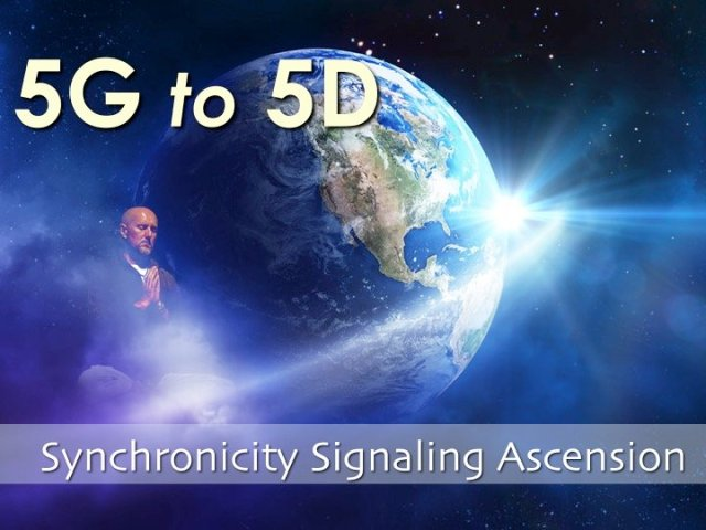 5G to 5D synchronicity
